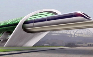 NEW TRAIN HEADING FOR SPAIN – THE 'HYPERLOOP' CAPSULE  TRAIN MOVING AT 750mph
