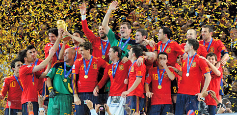 INTERNATIONAL FOOTBALL IS ONE OF SPAIN'S  BIGGEST TOURIST MAGNETS – ESPECIALLY FOR   THE BRITISH.